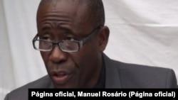 Manuel do Rosário, candidato presidencial em São Tome e Príncipe