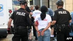 New York'ta Göçmenlik Protestosu