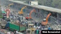 گزشتہ سال سپریم کورٹ کے حکم پر کراچی میں کئی غیرقانونی تعمرات مسمار کر دی گئیں تھیں۔