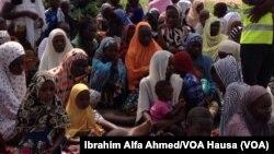 Wasu 'Yan Gudun Hijira a Jihar Borno