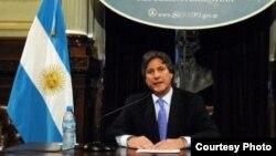 El vicepresidente argentino, Amado Boudou, es investigado por tráfico de influencias y lavado de dinero público. (Foto: Senado de Argentina)