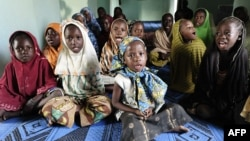 Malian children sing at a Koranic school in Gao, northern Mali, Feb. 13, 2013.