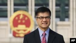 美国驻华大使骆家辉2012年9月20日