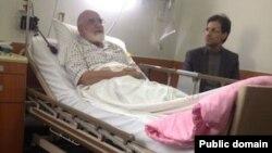 مهدی كروبی در بیمارستان