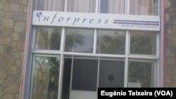 Sede da Inforpress, Agência de Notícias de Cabo Verde