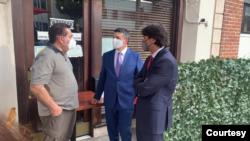 Nəsimi Ağayev və Can Oğuz