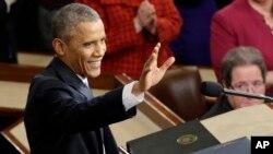 Barack Obama, Washington, 20 janvier 2015