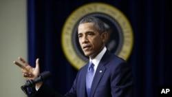 美国总统奥巴马9月16日在白宫。