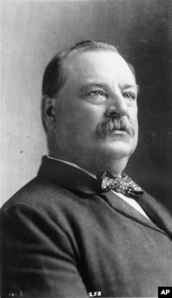 Grover Cleveland, 22nd president of the United States.