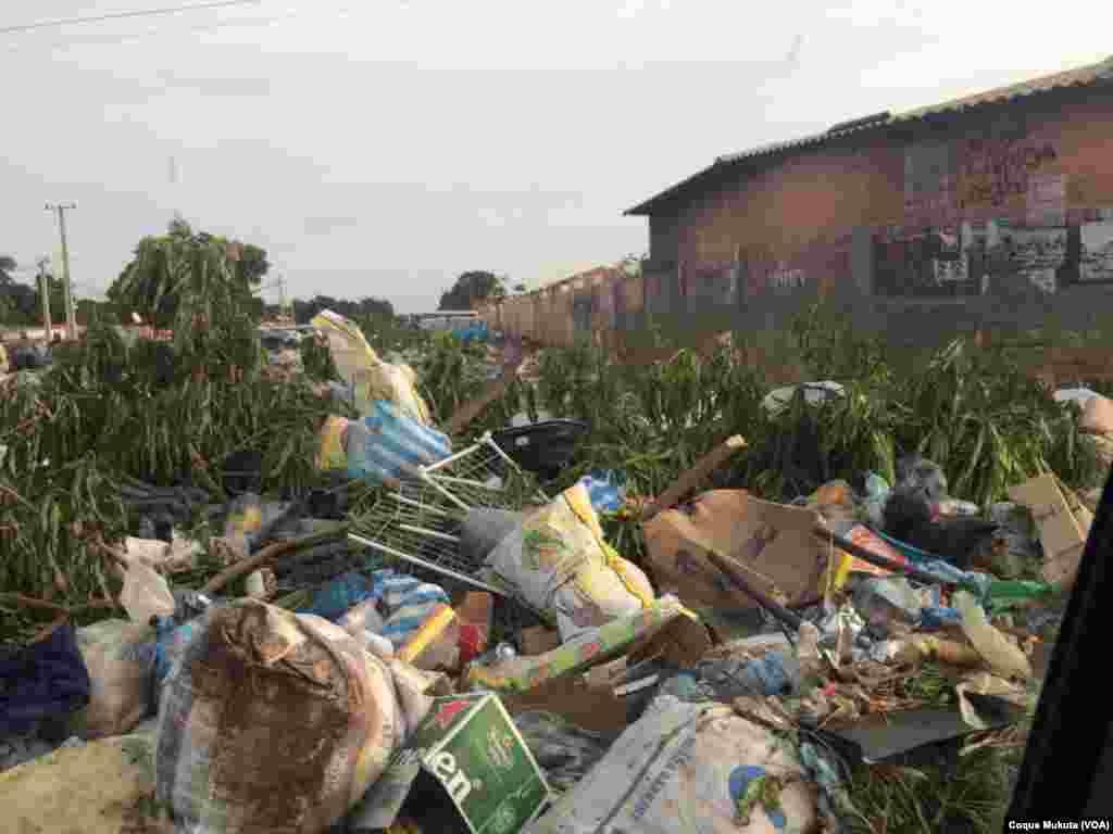 Sétima Avenida do Cazenga em Luanda