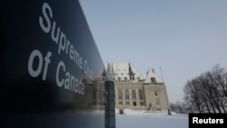 Mahkamah Agung Kanada di Ottawa (6/2). Mahkamah Agung Kanada, Jumat (7/2), secara mufakat mencabut larangan eutanasia bagi pasien yang secara kejiwaan mampu membuat keputusan untuk mengakhiri hidupnya.