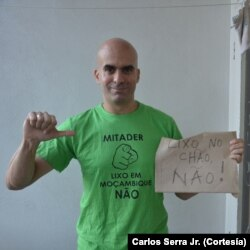 Carlos Serra Jr., ambientalista moçambicano