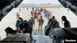 Аэропорт Кабула, 18 августа 2021 г.