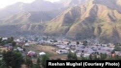 وادی کشمیر کا ایک دلکش منظر