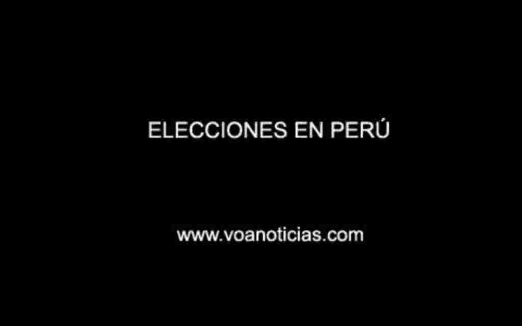 Perú 2011: Elecciones presidenciales