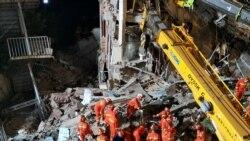 中國蘇州一家酒店倒塌週死亡人數增至 17 人