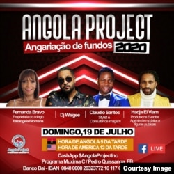 Flyer Telethon Angola Project