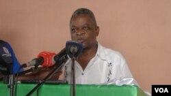 Fernando Manuel director nacional de reabilitação dos serviços prisionais