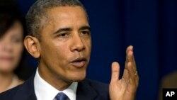 Obama dijo que se trabajó muy duro para salir de la crisis para ver ahora que los congresistas causen deliberadamente otra.