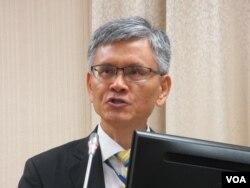 台灣外交部主任秘書李光章(美國之音張永泰拍攝)