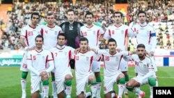 عکس آرشیوی از تیم ملی فوتبال ایران