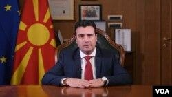 Odlazeći premijer Severne Makedonije Zoran Zaev (Foto: VOA)
