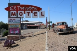 El Trovatore Motel in Kingman, Arizona