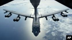 미군의 B-52 전략 폭격기 (자료사진)