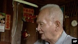 Former Khmer Rouge leader Nuon Chea.
