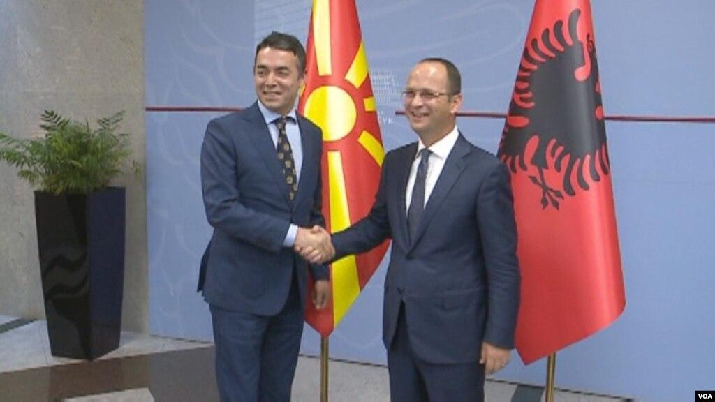 Shqipëri Maqedoni  mbledhje të përbashkët mes qeverive