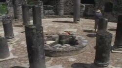 Mozaik i rrallë në Butrint