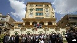 埃及穆斯林兄弟會星期六舉行集會