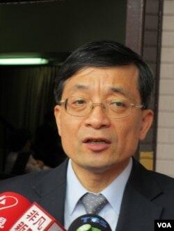 台湾亲民党立委 李桐豪 (美国之音张永泰拍摄)