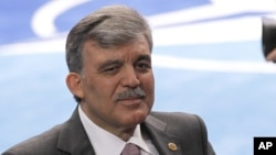 Turkish President Abdullah Gul (May 21, 2012).