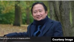Hình ảnh Trịnh Xuân Thanh trên báo Đức.