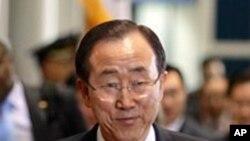 Ông Ban Ki-moon kêu gọi Bắc Triều Tiên xét lại quyết định cho phù hợp với thỏa thuận mới đây của họ là ngưng các vụ phóng tên lửa tầm xa