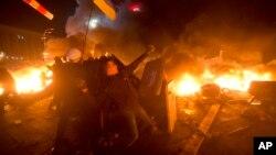 Киев 18 февраля 2014