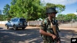 Un militaire congolais à Lubumbashi