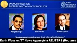 研究全球貧困問題 3位經濟學家榮獲2019年諾貝爾經濟學獎