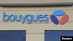 Le logo de Bouygues Telecom à Nice, France, le 23 février 2017.