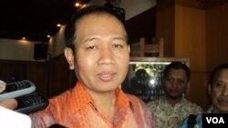 Kepala Direktorat Jenderal Pemasyarakatan Kementerian Hukum dan HAM, Priyadi. (VOA/Yudhi Satriawan)