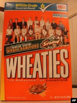 One sign that the WNBA may finally have 'arrived' as a sports fixture: last year's champions were featured on a Wheaties cereal box.