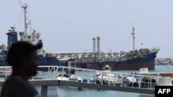 Порт Фуджейра на восточном побережье Объединённых Арабских Эмиратов