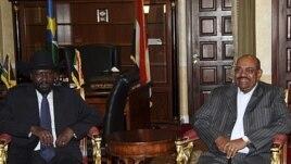 Rais wa Sudan Kusini, Salva Kiir na Rais wa Sudan, Hassan al-Bashir waendelea na mashauriano mjini Addis Ababa.