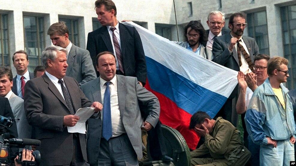 Rusi, 25-vjetori i dështimit të grushtit të shtetit