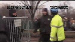 2012-01-18 美國之音視頻新聞: 美國佔領運動抗議者聚集國會山莊