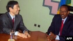 Jakadan Amurka a kasar Somali, Donald Yamamoto.