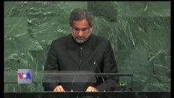 بھارت پاکستان میں دہشت گردوں کی معاونت بند کرے، خاقان عباسی