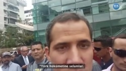 Juan Guaido VOA Türkçe'nin Sorusunu Yanıtladı