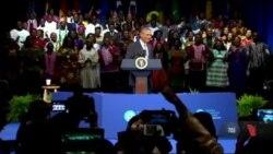 Обама на день народження отримав рекордний рейтинг. Відео
